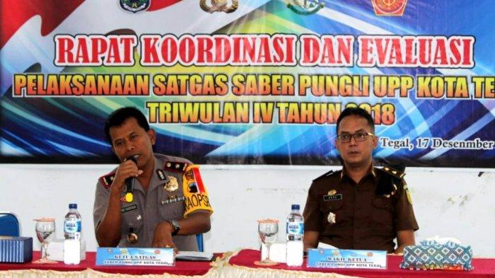 Tim Saber Pungli Kota Tegal Menindak 10 Kasus Sepanjang 2018