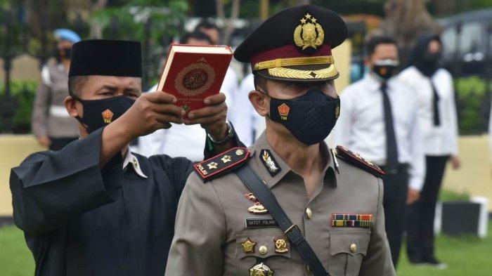 Eks Kapolres Brebes AKBP Gatot Yulianto Resmi Jabat Wakapolresta Solo