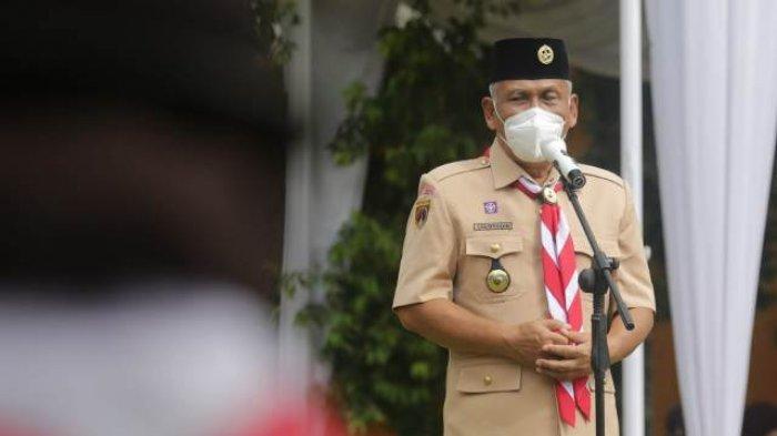Gerakan Pramuka Banjarnegara Kampanyekan Pentingnya Pola Hidup Bersih dan Sehat