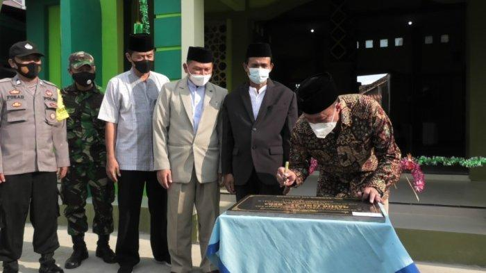 Wakil Bupati Sadewo Resmikan Masjid Jami Al Huda Gancang Gumelar Banyumas
