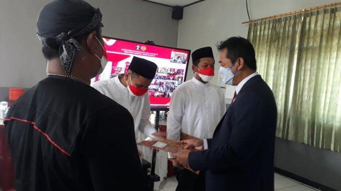127 Napi Rutan Batang Terima SK Remisi, Ini Pesan Wabup Suyono