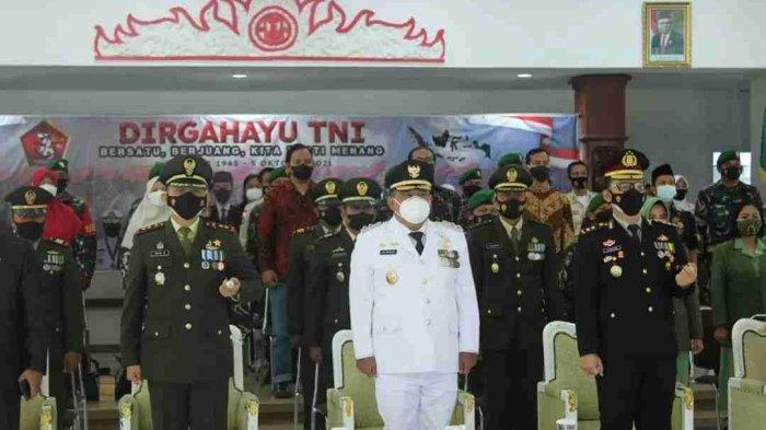 Wabup Windu Suko Basuki dan Forkompinda Kendal Ikuti Upacara Virtual HUT Ke-76 TNI