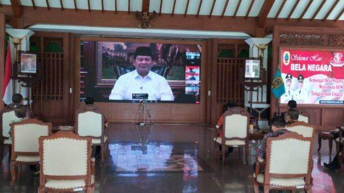 Menhan Prabowo Subianto Sebut Penerapan 3M pada Masa Pandemi Termasuk Upaya Bela Negara