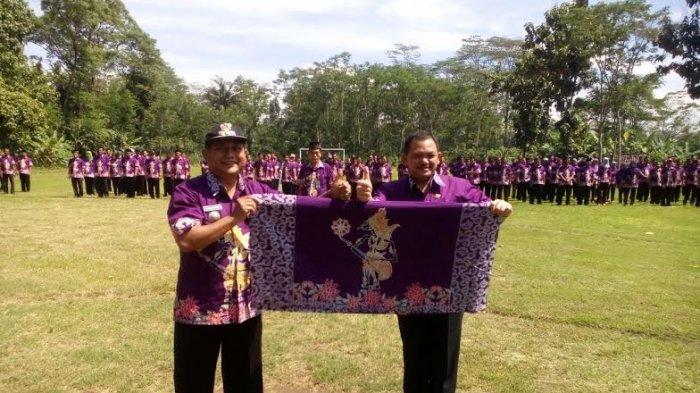 Awalnya Dipakai Perangkat Desa dan ASN Kaliwungu, Pemkab Semarang Luncurkan Batik Kresna