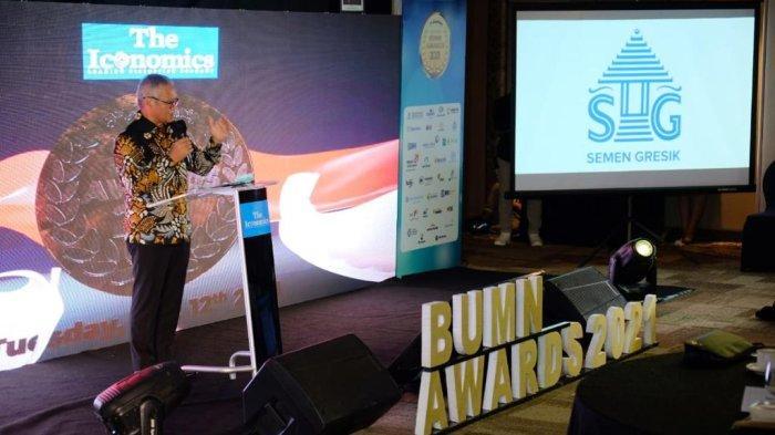 Semen Gresik Torehkan Prestasi Gemilang di Indonesia BUMN Awards 2021