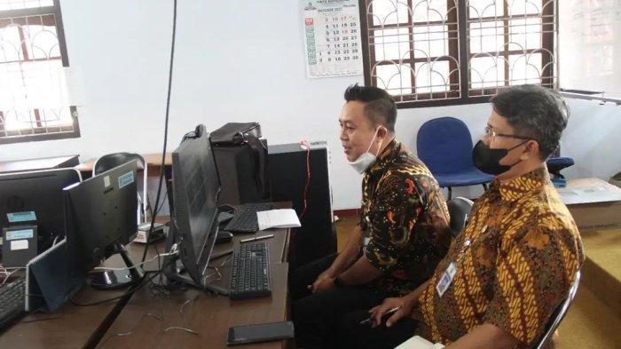DPD RI Kunjungi Diskominfo Kabupaten Kendal Secara Virtual