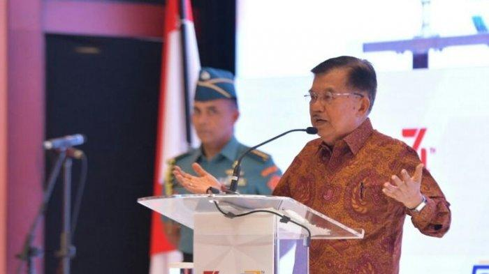 Soal Wacana PNS Kerja di Rumah, Wapres Jusuf Kalla: di Kantor Saja Tidak Disiplin