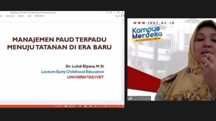 Wakil Rektor 1 Universitas Ivet Terbitkan Buku Manajemen PAUD Terpadu