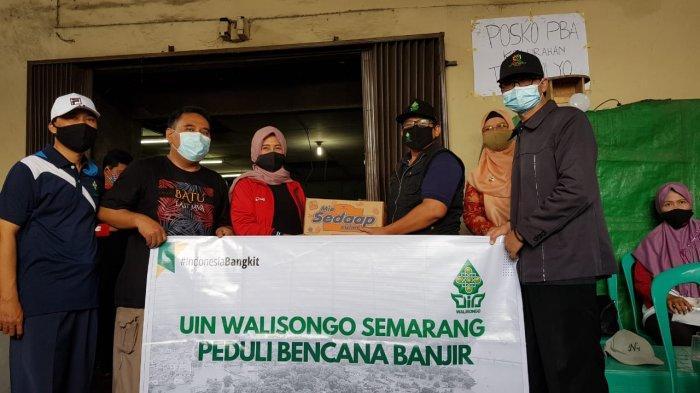 UIN Walisongo Bantu Korban Banjir Semarang dan Demak