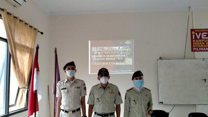 Wakil Rektor 3 Buka Pradiksar Resimen Mahasiswa Unisvet Semarang