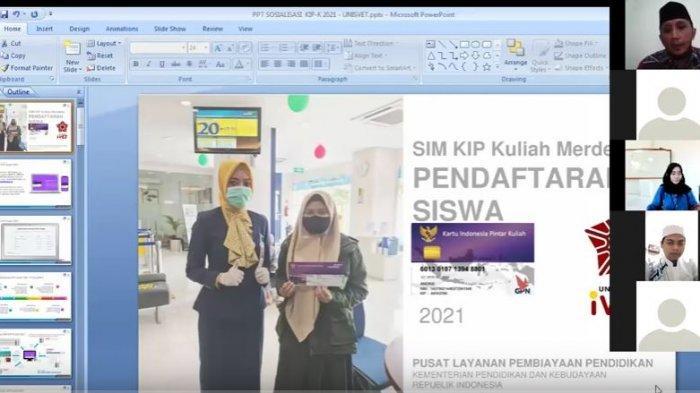 Universitas Ivet Semarang Sosialisasikan Kebijakan Kemendikbud Riset Program KIP K Tahun 2021