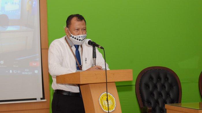 Wakil Rektor 3 Unsoed, Dr. Kuat Puji Prayitno, SH, M.Hum membuka NUDC Unsoed 2021