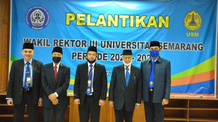 Dr Supari Dilantik Jadi Wakil Rektor Bidang Kemahasiswaan USM