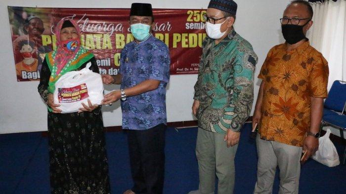 Perantau dari Bandung Beri Bantuan Masyarakat Terdampak Corona di Tegal, Ini Kata Wawali Jumadi