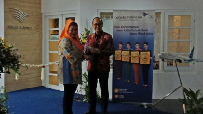 Garuda Indonesia Ubah Rumah Dinas Terbengkalai Jadi Kantor Pemasaran