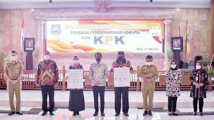 KPK Apresiasi Perbaikan Tata Kelola Pemkab Tegal