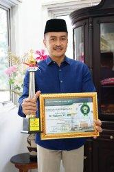 Wali Kota Salatiga Terima DMI Award