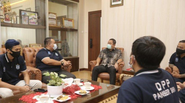 Hendi Ajak Panser Biru PSIS Bantu Pemerintah Tegakkan Protokol Kesehatan di Kota Semarang