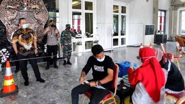 Vaksinasi Buruh Digelar Di Semarang Pada Peringatan May Day