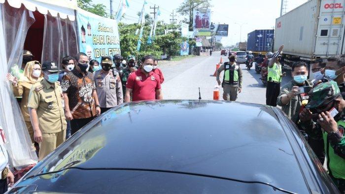 Hendi Turun Langsung Pantau Pos Penyekatan Mudik di Kota Semarang