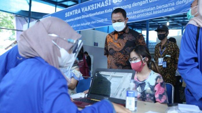 Hendi Targetkan 6.000 Vaksinasi Tiap Hari, Warga KTP Luar Kota Domisili Semarang Boleh Ikut