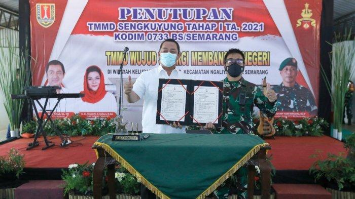 Hendi Apresiasi Peran TNI Dalam Pembangunan Kota Semarang