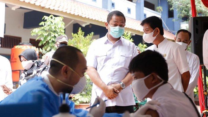 Hendi Mulai Vaksinasi Corona Pelajar SMP dan SMA di Kota Semarang