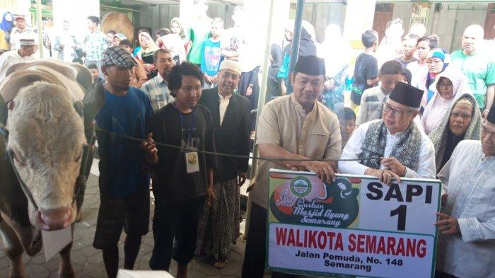 Wali Kota Semarang ImbauGunakan Besek untuk Bagi Daging Kurban pada Masyarakat