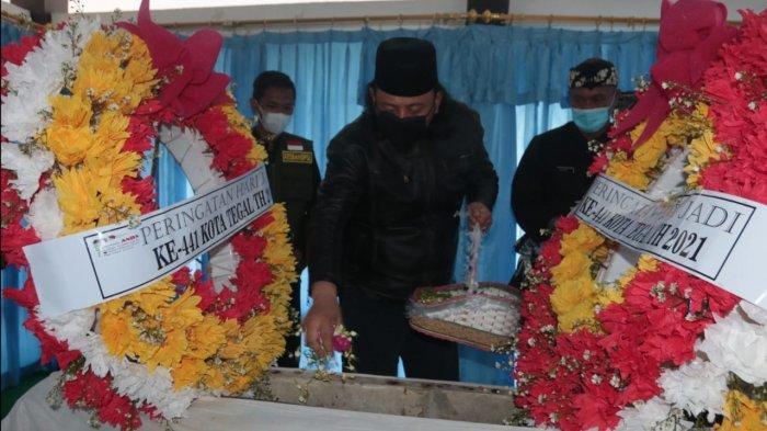 Peringati Hari Jadi ke-441 Kota Tegal, Dedy Yon Ziarah ke Makam Ki Gede Sebayu