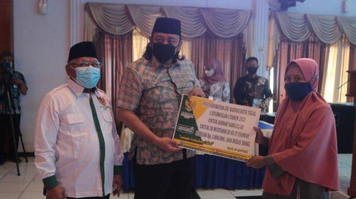 2.100 Guru Agama Non ASN di Kota Tegal Dapat Bantuan dari Baznas