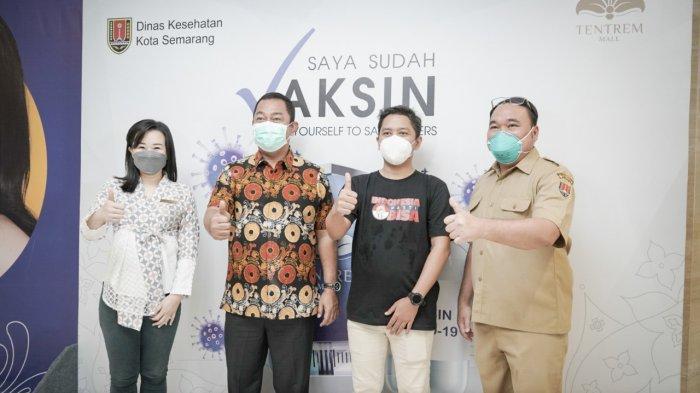 Sentra Vaksin Mall Tentrem Semarang Diwarnai Kolaborasi, Kali Ini dengan Indonesia Pasti Bisa