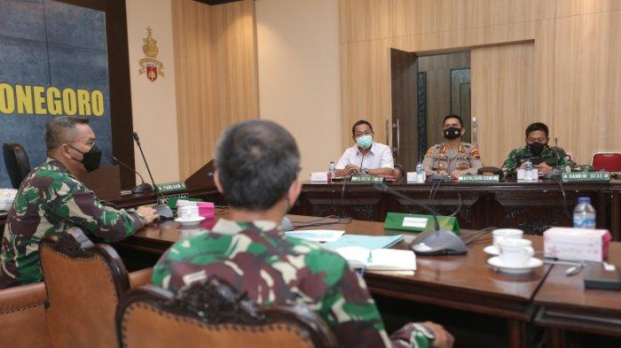 Menghadap Pangdam IV Diponegoro, Hendi Dapat Alokasi Vaksin Corona TNI Untuk Kota Semarang