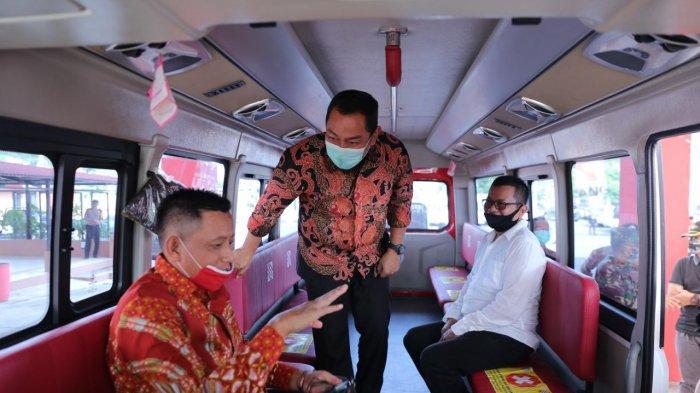 Hendi Tetapkan Kebijakan Tukar Botol Plastik Dengan Tiket BRT Trans Semarang