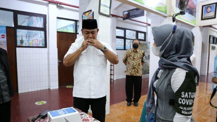 Hendi Coba Genose Untuk Sekolah Tatap Muka di Kota Semarang