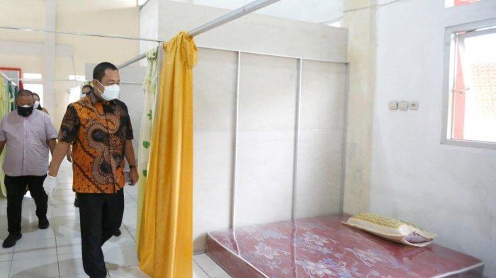 Tutup Tiga Tempat Isolasi Terpusat di Semarang, Hendi Sisakan Tempat Tidur untuk Warga yang Isoman