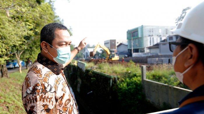 Hendi Tinjau Pembangunan Jalan Sriwijaya, Capai Progres Masih 10%