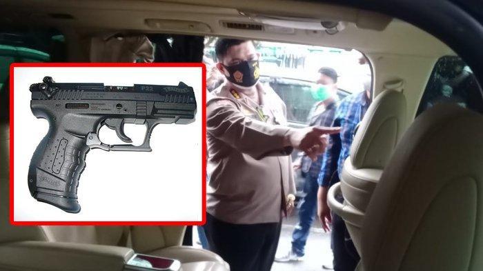 Ini Harga Fantastis dan Spesifikasi Pistol Walther Kaliber 22 Digunakan LJ Tembaki Alphard di Solo