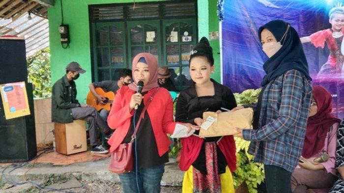 Sinta Ajak Donator Berbagi Bazar Sembako Gratis di Ungaran