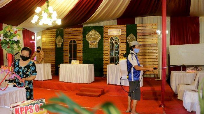 TPS 07 Sambirejo Semarang Usung Konsep Unik Pernikahan Ngunduh Pemilu