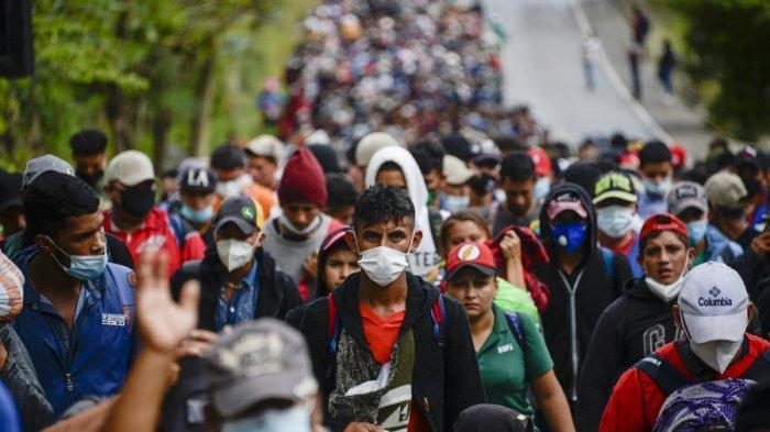 Berharap kehidupan Lebih Baik, 8.000 Warga Honduras Nekat Migrasi Ilegal ke AS
