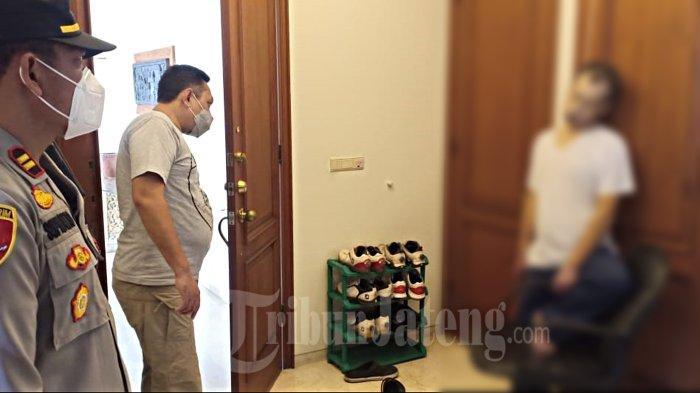 Nagamori Takasi (41) warga negara Jepang ditemukan gantung diri di kamar apartemennya di Jalan Sinabung, Wonotingal, Candisari, Kota Semarang, Rabu 10 Februari 2021.