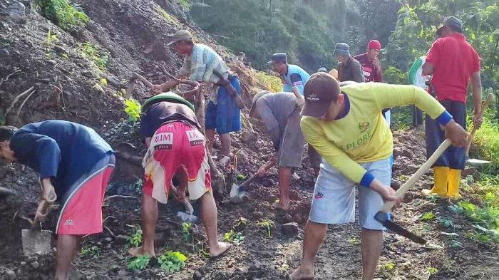 Warga Desa Suru Kecamatan Bantarbolang Pemalang Terisolir Sementara