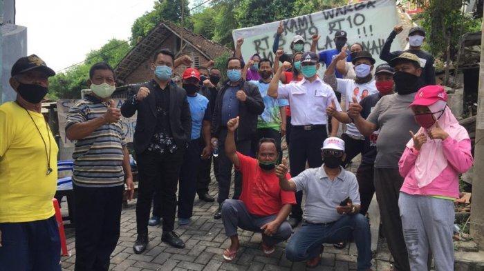 Warga Karangjangkang Meminta Perlindungan Wali Kota Semarang, Takut Rumah Digusur