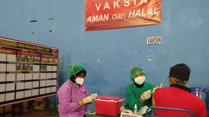 Kodim 0727 Karanganyar Gelar Vaksinasi Massal, Sasar Pelaku Ekonomi & Warga dengan Mobilitas Tinggi