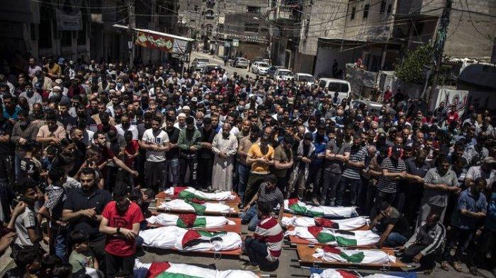 10.000 Warga Palestina Mengungsi Akibat Rentetan Serangan Israel ke Jalur Gaza