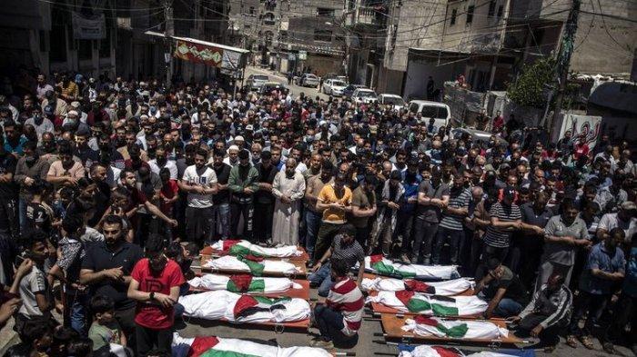 Update Konflik Palestina Vs Israel, 200 Orang Tercatat Tewas dalam Seminggu