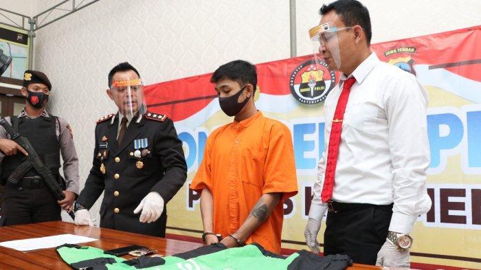 Warga Candisari Semarang Bawa Narkoba Kluyuran Sampai Kebumen Pakai Jaket Ojol