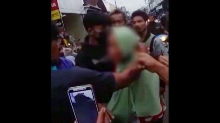Viral Video Nenek di Banjarnegara Tertangkap Mencopet di Pasar Lalu Diarak, Ini Nasibnya Kini