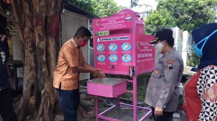 Polrestabes Semarang Tambah 6 Kampung Siaga Virus Corona, Diminta Pantau Pemudik