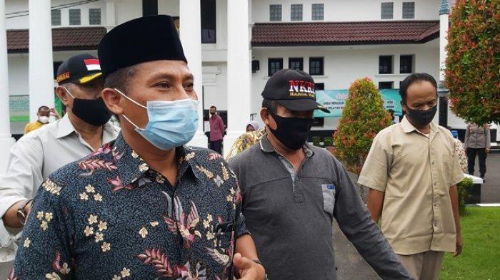 Wakil Ketua DPRD Kota Tegal Wasmad Edi Susilo Pasrah Dituntut 4 Bulan Penjara